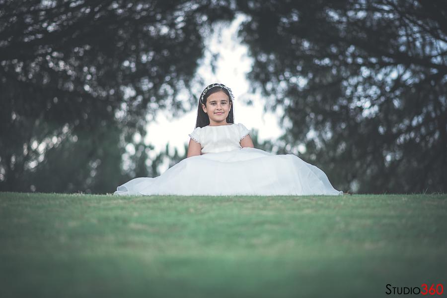 Comunion, Maria, niña, sesión, primera comunion