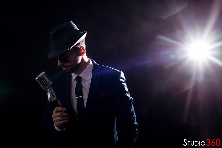 Cantante José Barberán, Sesión, reportaje, estudio, cantante, José Barberán