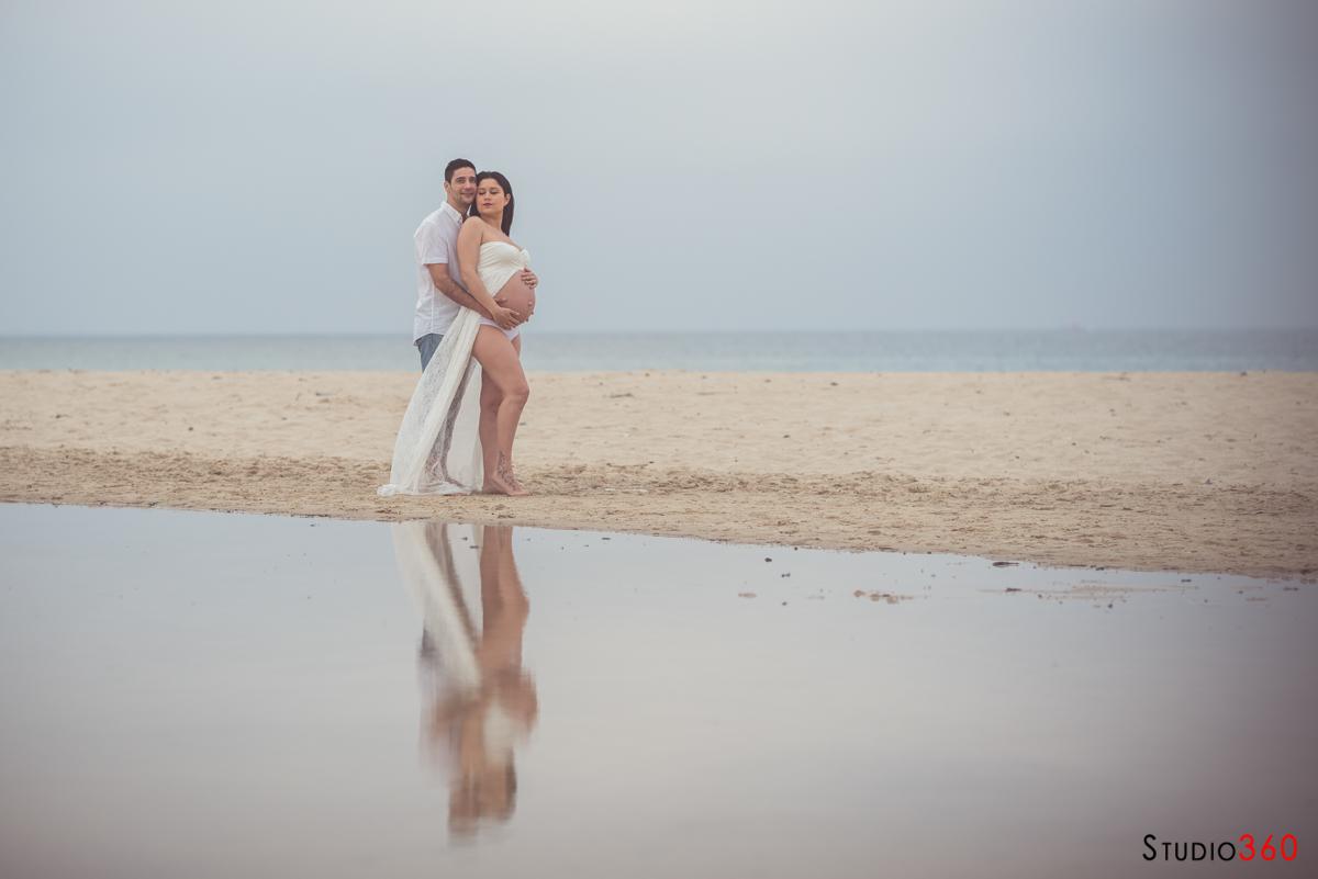 Embarazada Tarifa Punta Paloma dunas
