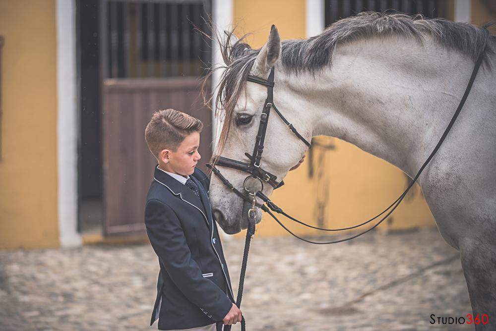Comunion caballo campo algeciras