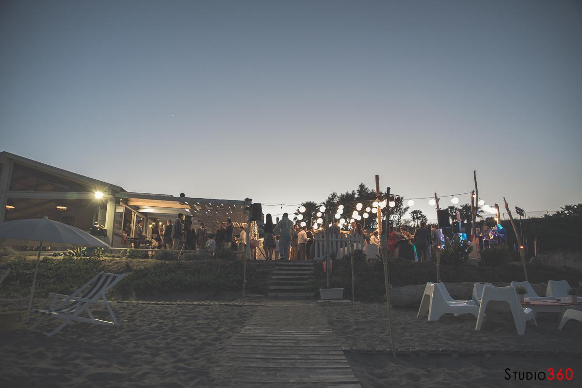Boda playa Alcaidesa chiringuito Blanco La Linea