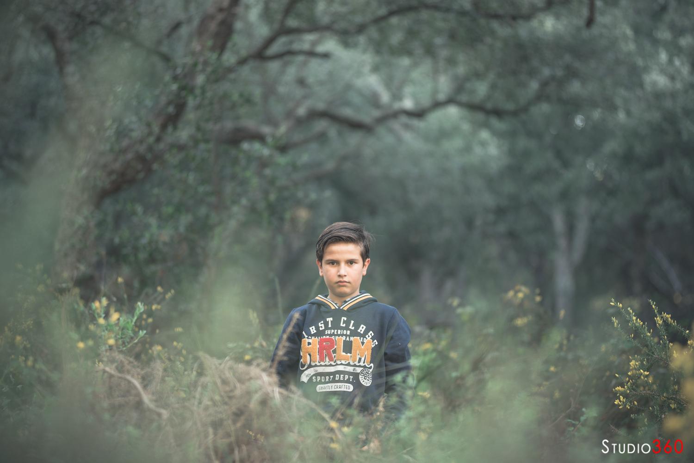 Niño infantil modelo livestile