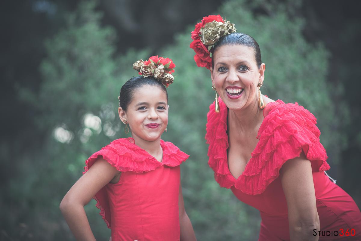 Flamenca feria traje