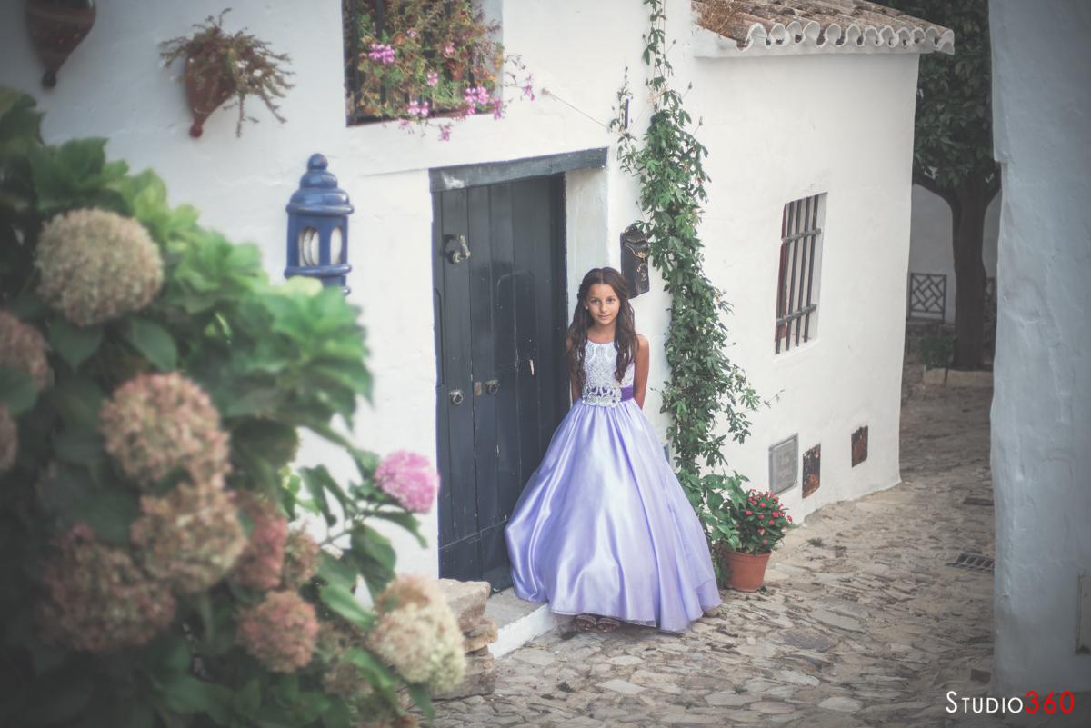 Coronacion princesa cumpleaños niña castillo castellar