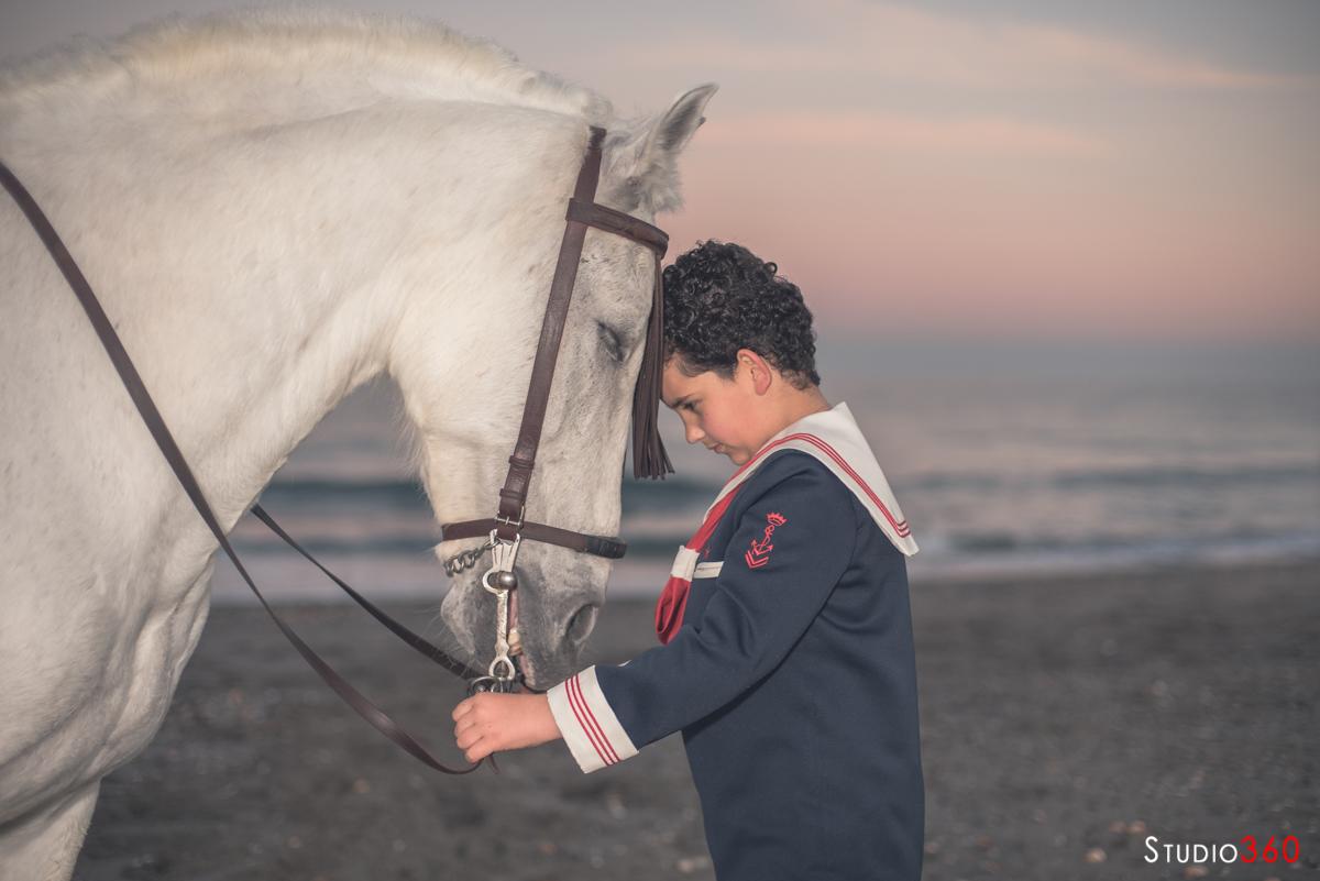 Comunion San roque Algeciras la linea caballo