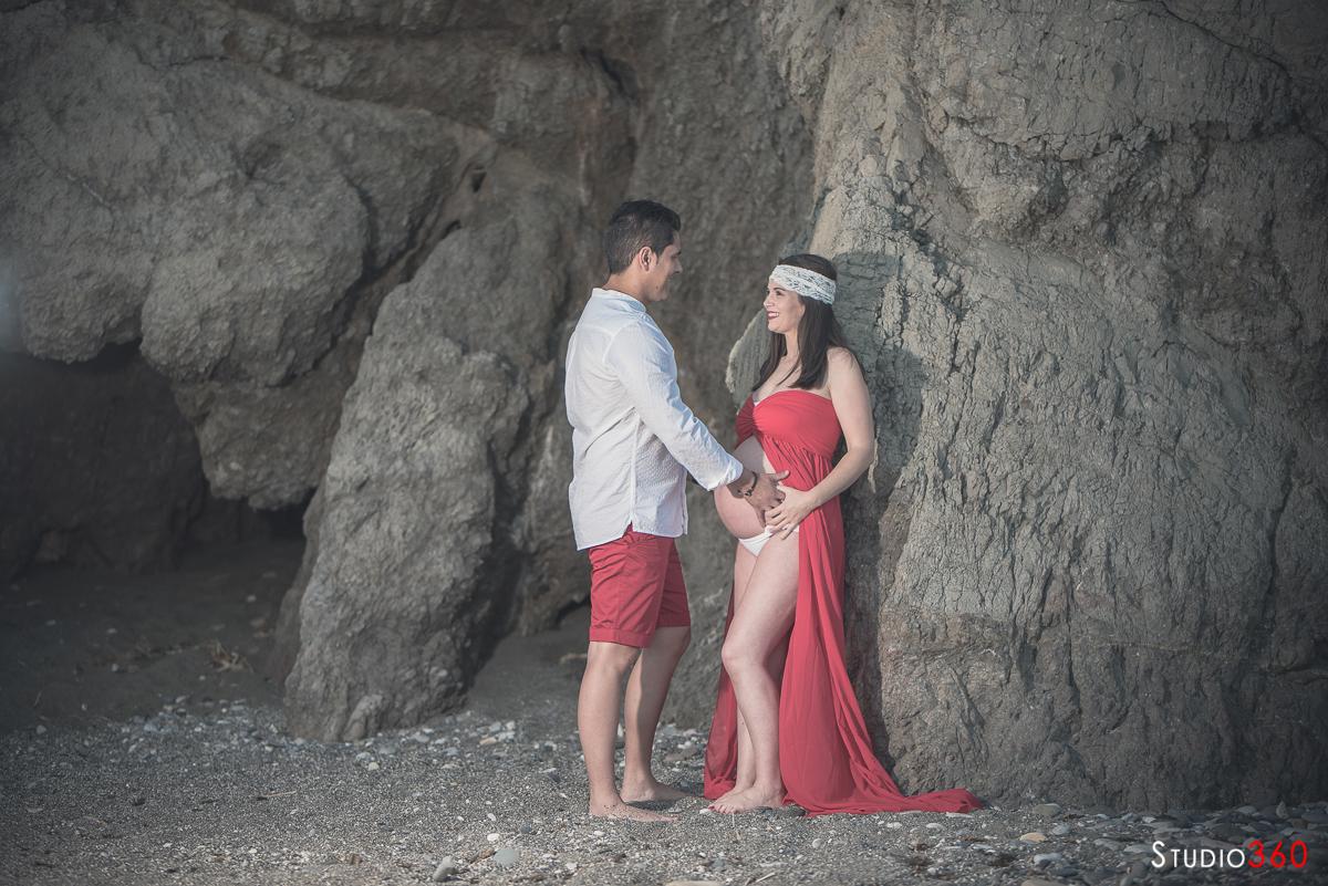 Embarazada Casares Torre de la Sal Malaga